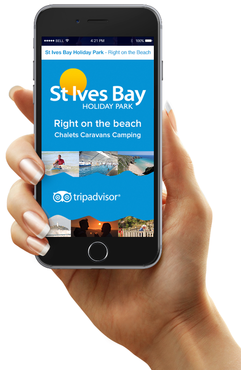 St Ives Holiday Park email campaign